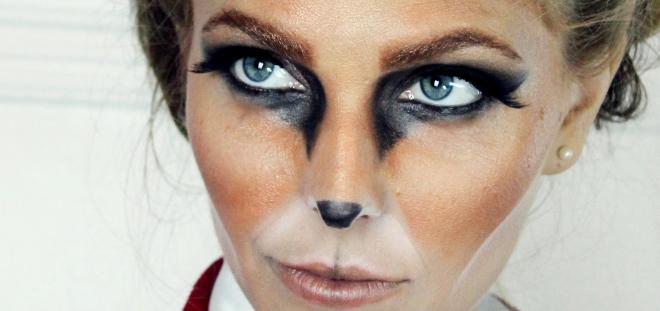 fox makeup by katie nash