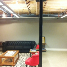 Existing reception space