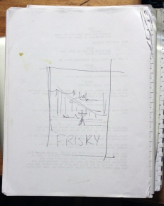 concept sketch on someone else's script